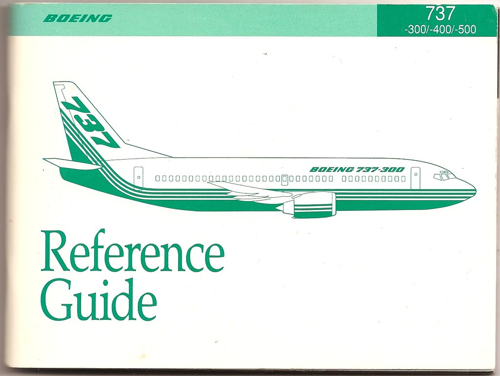 Boeing 737-300/400/500/ Reference Guide