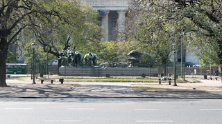 Image of Monumento Canto al Trabajo. argentina buenosaires august santelmo