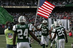 New York Jets vs Jacksonville Jaguars Military Ceremony