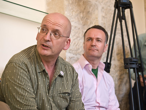 PalFest 2008: Roddy Doyle and Andrew O'Hagan