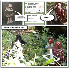 Episode 802 of our geocaching streak, Part 1