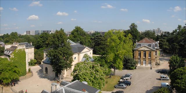 Le jardin des plantes du cot de la rue cuvier paris for Jardin 122 rue des poissonniers