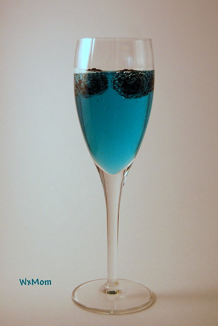 Blue Balls Cocktail http://www.flickr.com/photos/wxmom/3725096493/