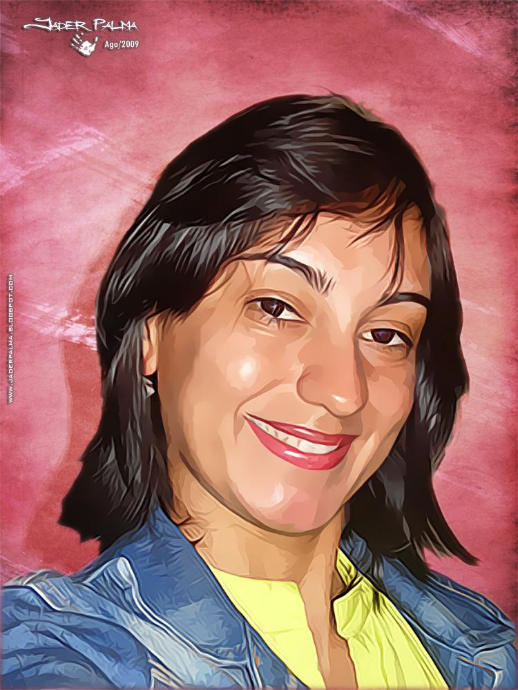 Aninha (photoshop) by Jader Palma