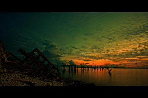 sunset sea cloud scenery dusk laut malaysia kuala awan seaview senja platinumheartaward