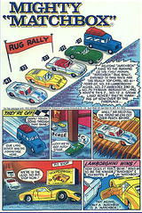 Matchbox -rug rally
