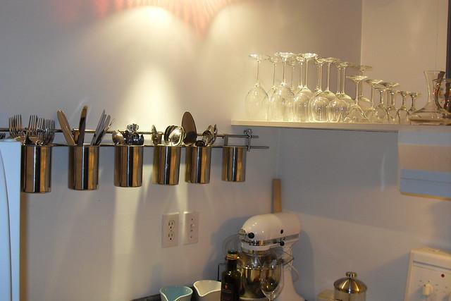 Kitchen Cutlery Wall Clock