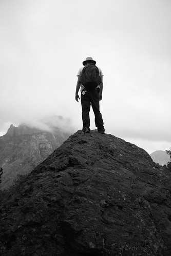 mountain climbling photo