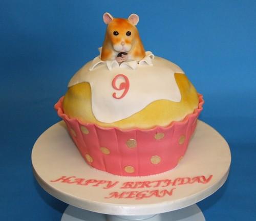 Fondant Covered Sponge Cake For A