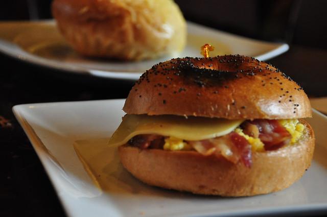Coffee Bacon Sandwiches Recipe — Dishmaps