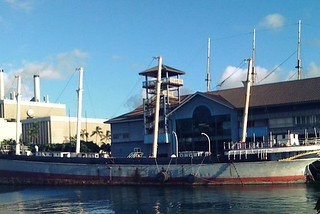 Image of Falls of Clyde. usa museum hawaii harbor ship unitedstates oahu sail honolulu matson iphone alohatower geotaggedhawaii