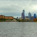 Philly Skyline from Launch by michaelwm25