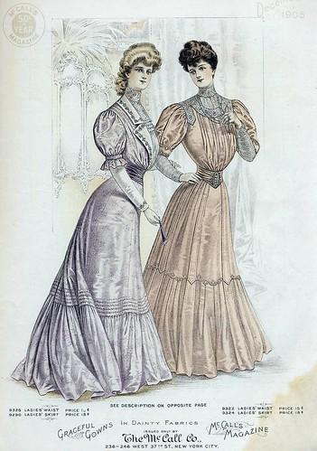 December 1905 Fashion