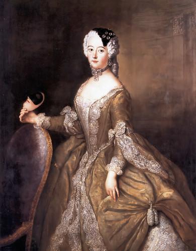c. 1744 Luise Ulrike von Preussen Queen consort of Sweden