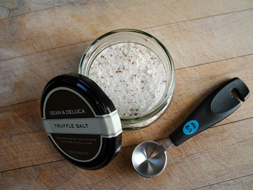 Black Summer Truffle Salt from Dean & Deluca - The Delicious Daily 11.30.2009