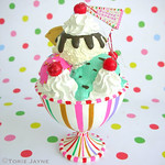 Sundae decoration