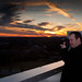 Richard shooting the Atlanta skyline at sunset by mfonseca9