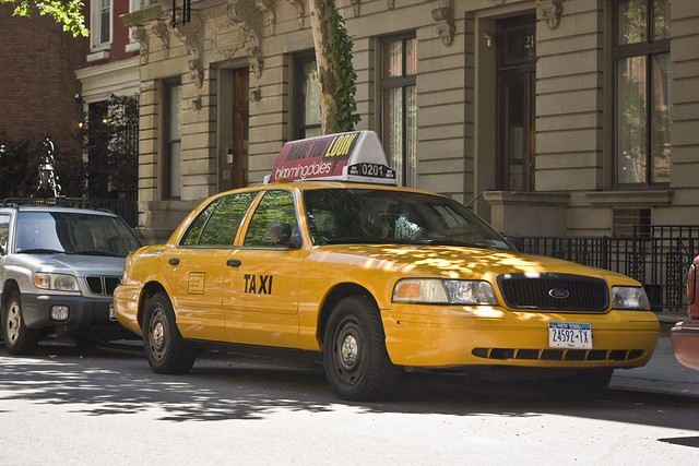 NYC Yellow Cab Fake