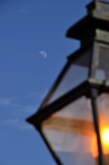 By the light of the moon...
