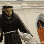Statue at the Ave Maria Church - Ataco, El Salvador