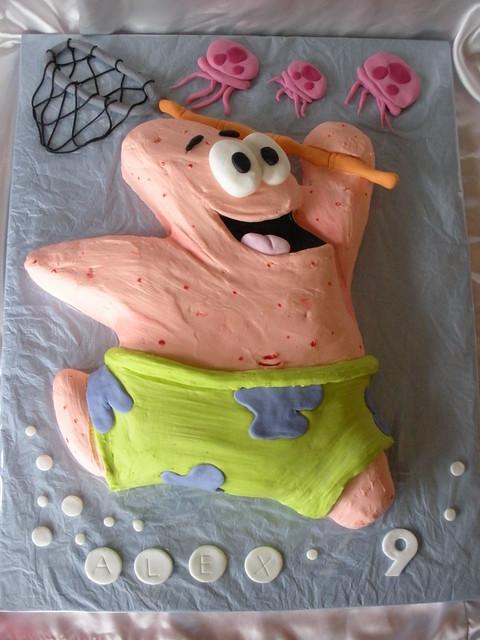 patrick starfish cake