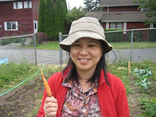 First carrot