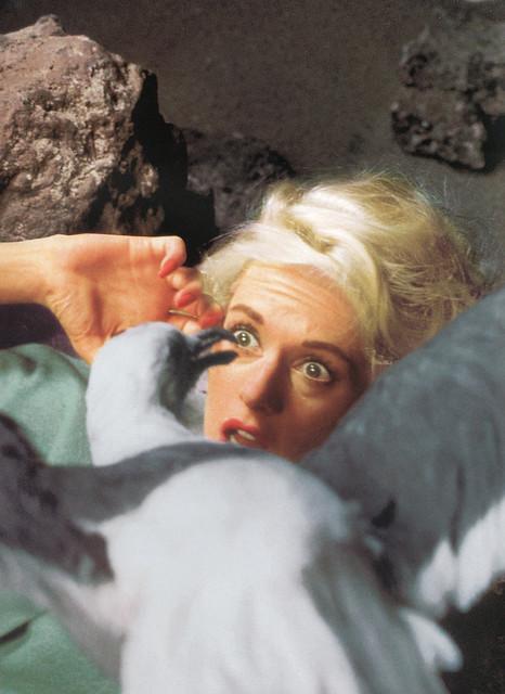 "Tippi Hedren, ""The Birds"", 1963"