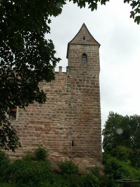 Burg Abenberg in alter Schönheit