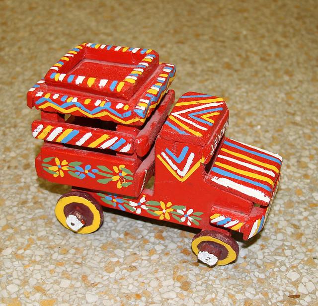 Haiti: Wood Tap Tap Folk Art