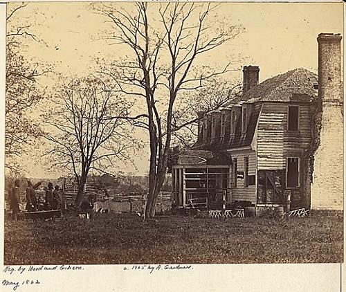 Moore House - Yorktown, Virginia - May 1862