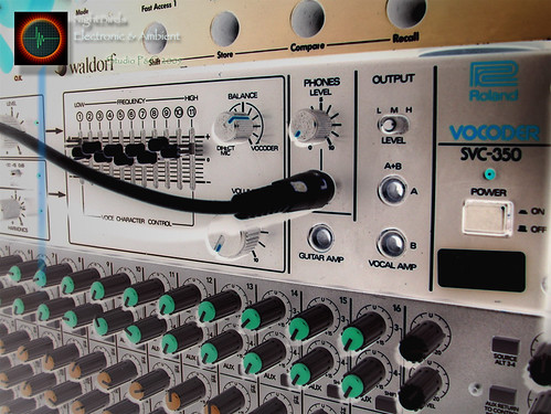 ROLAND SVC-350 Vocoder (NightBirds Electronic Music Studio : Archives - 10 Juillet 2009) by NightBirds (Electronic Music - France)