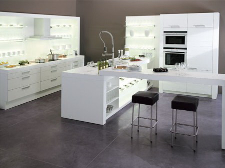 Meubles ragazzi furniture for Cuisine moderne blanche