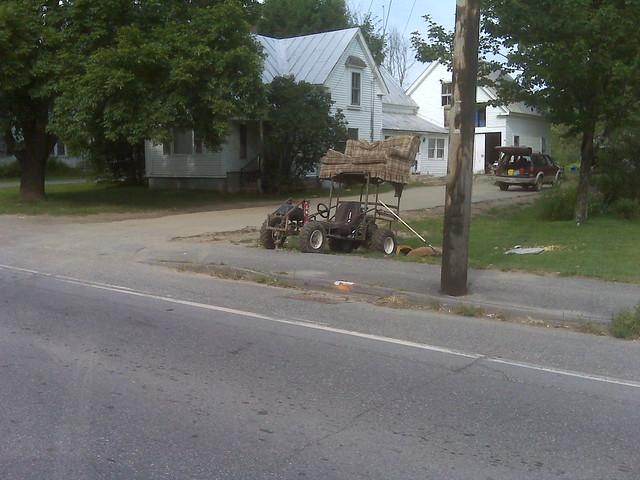 Starks, Maine church mission trip (hillbilly/redneck dune buggy)