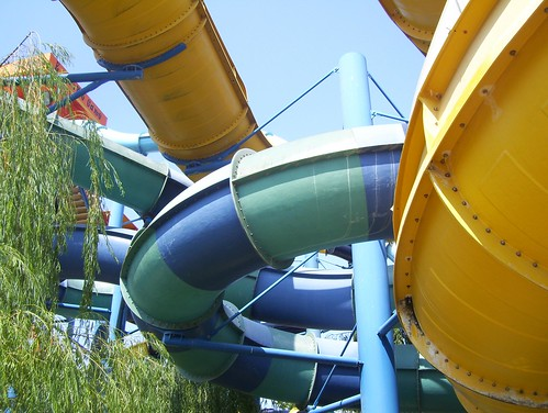 A Maze of Water Slides