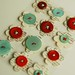 dictionary button flowers
