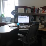 my office, annotated for Prof. Hacker