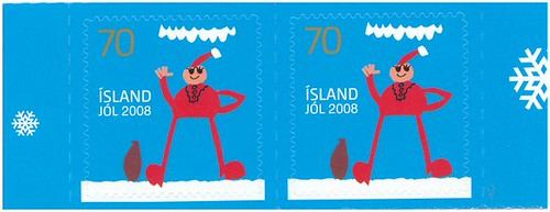Christmas stamps 2008, Iceland