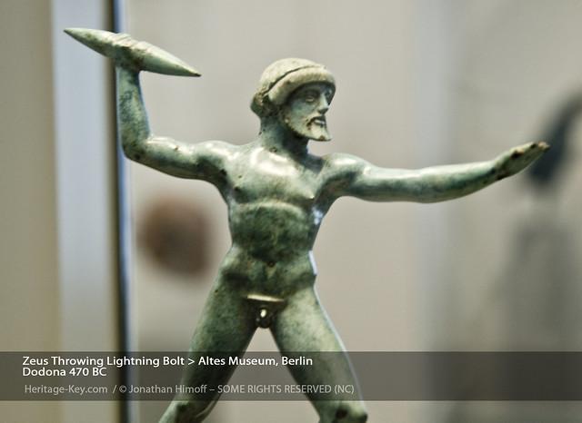 Zeus Hurling Lightning Bolt, Altes Museum, Berlin   Flickr ...