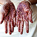 Indian Bride's Henna Hands
