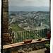 Civita di Bagnoregio - La valle dei calanchi - Veduta