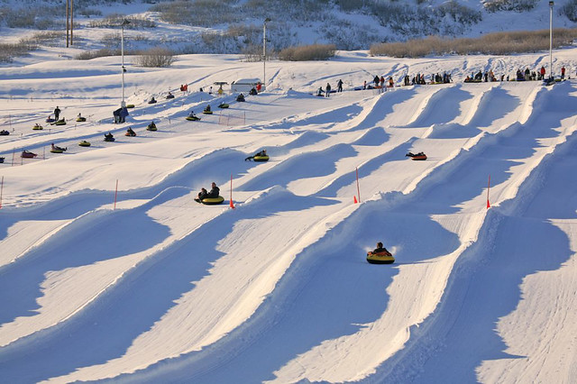longest snow tubing hill in US