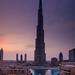 United Arab Emirates - Dubai - Reaching to the Sky - Burj Khalifa at Dusk - Twilight - Blue Hour by © Lucie Debelkova / www.luciedebelkova.com