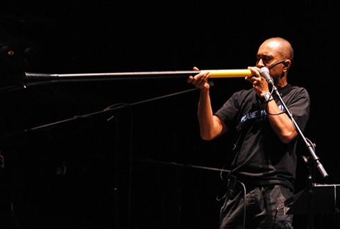 Electronic didgeribone