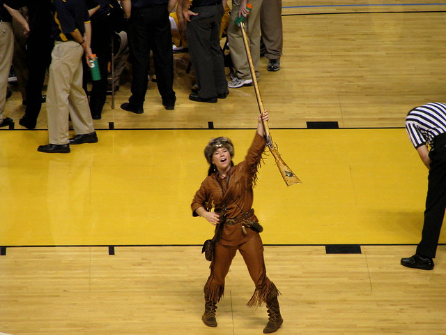 """WVU Mascot """"The Mountaineer"""" - a photo on Flickriver"""