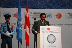 IPCC主席帕卓里博士(圖片來源:UNFCCC)