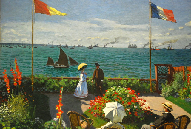 Monet Garden At Sainte Adresse Flickr Photo Sharing