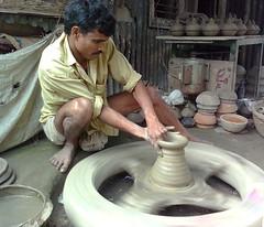 wheel, pottery, potter's wheel, craft,