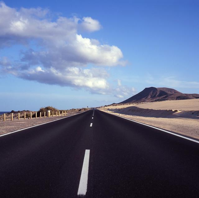 Corralejo highway