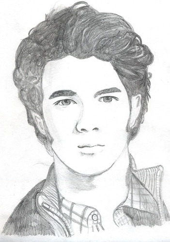 Drawing of Kevin Jonas