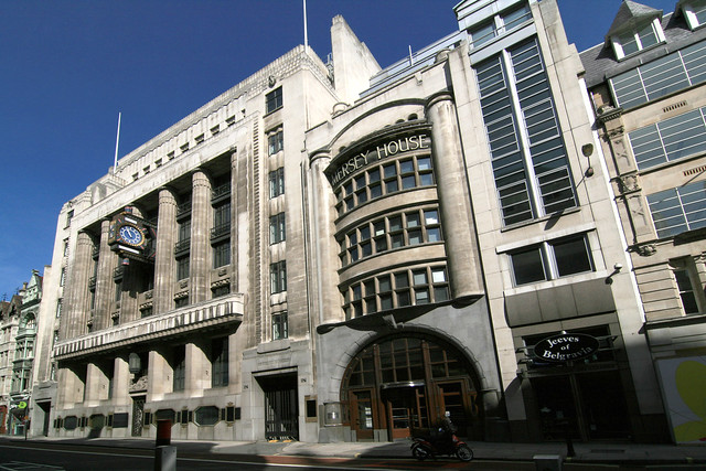 Daily Telegraph building, Fleet Street, London